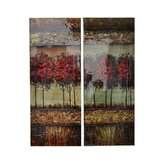 Saul's Wood Wall Art (Set of 2)