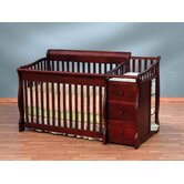 Tuscany 4-in-1 Convertible Crib and Changer Combo