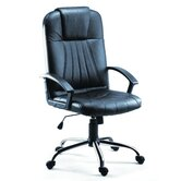 Michelle High Back Leather Faced Executive Armchair