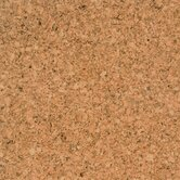 Natural Cork Glue Down Parquet Tiles 12&quot; Homogeneous Cork in Marmol Matte