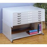 "19.75"" x 46.75"" Flat File Stand in Light Grey"