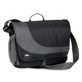 Chip Laptop Messenger Bag in Black/Charcoal