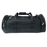 "Adventurer 23"" Leather Gym Duffel"