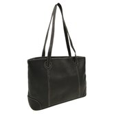 Ladies Computer Tote in Black
