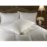 Intera Medium Dual Filled Pillow in White
