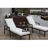 Clima 3 Piece Lounge Seating Group with Cushions