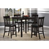 Cafe Pub 5 Piece Dining Set