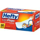 (80 per Carton) 13 Gallon Easy Flaps Trash Bag