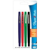 4 Count Assorted Colors Flair Felt Tip Pen