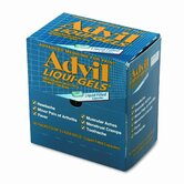 Advil Liqui-Gels Pain Reliever Refill, 50 Two-Packs per Box