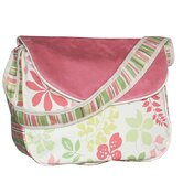Leaves Personalized Messenger Diaper Bag