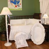 White Pique Crib Bedding Collection