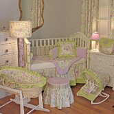 Lilac Garden Crib Bedding Collection
