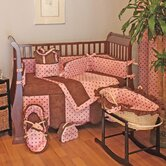 Dots Pink Crib Bedding Collection