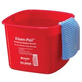 6 Quart Kleen-Pail in Red