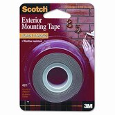 Exterior Weather-Resistant Double-Sided Tape, 1 X 60