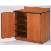 Illusions 30&quot; H Base Cabinet with Doors/Shelves