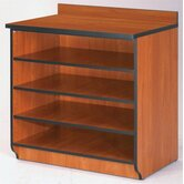 "Illusions 30"" H Base Shelf Cabinet without Doors"