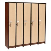 60&quot; H Five Unit Laminate Locker
