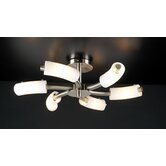 Carmen 6 Light Semi Flush Mount