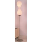 Peanut Six Light Floor Lamp in Polished Chrome