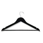 Eight Pack Suit Hangers in Ebony