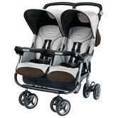 Aria Twin 60 / 40 Double Stroller in Java