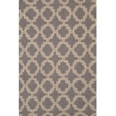 Hooked Plain Tin Charcoal Rug