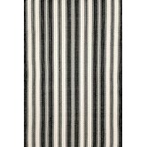 Woven Black/Ivory Rug