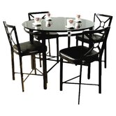 Dinette 5 Piece Counter Height Set