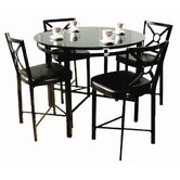 Park Avenue 5 Piece Counter Height Dining Set