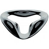 Serpentine Bottle Opener in Mirror Polished