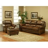 Cambria Leather Living Room Collection