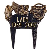 Pet Memorial / Angel-Dog Plaque