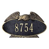 Eagle Oval Standard Wall Plaque
