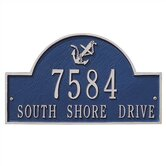 Lawn Size Anchor Arch Plaque