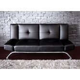 Revolution Metal Emma Futon in Rich Black