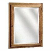 Bostonian Series 24&quot; x 30&quot; Red Oak Surface Mount or Recessed Medicine Cabinet in Honey Oak Finish