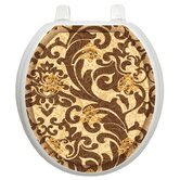 Classic Toilet Seat Applique with Tuscany Filigree Design