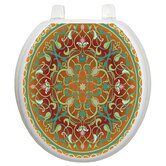 Classic Toilet Seat Applique with Medallion Design