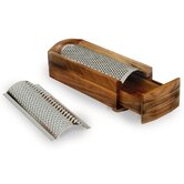 Acacia Cheese Grater and Shredder in Lacquer