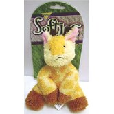Softies Terry Gail Giraffe Dog Toy