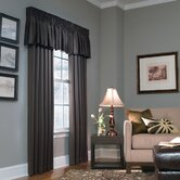 Cameron Drapes and Valance Set in Chocolate