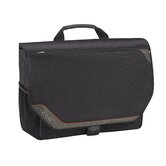 "Vector 17.3"" Laptop Messenger in Black"