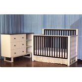 Moderno 4-in-1 Convertible Crib Set