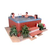 Save 10% Now!Punta Cana 6 Person 47 Jet Wrap Around Lounger Spa