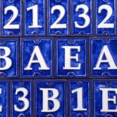 Ceramic Letter Tiles