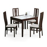 Poker-120 Dining Table with Creek and Scala Chairs