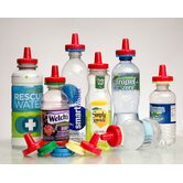 Three Pack No Spill Bottle Cap Combo set