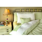 Duvet Cover Collection in Sage and White